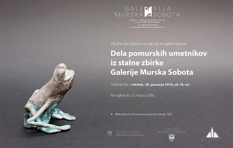 Odprtje in ogled razstave Dela pomurskih umetnikov